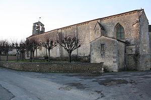 Bernay-Saint-Martin - Image: Eglise St Naz Bernay St Mart