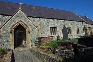 St Edern's Church, Bodedern - Image: Eglwys S Edern Bodedern geograph.org.uk 577735