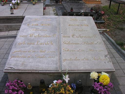 Grób Josepha Eichendorffa w Nysie