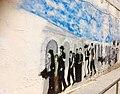 Ein Graffiti mit Thema der Vertreibung .jpg