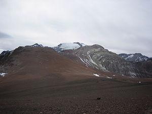 Cerro El Plomo - Image: El Plomo 1
