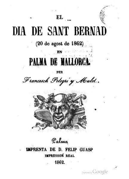 File:El dia de Sant Bernad en Palma de Mallorca (1862).djvu