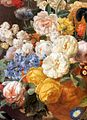 Eliaerts, Jan Frans - Bouquet of Flowers in a Sculpted Vase (detail) - 19th c.jpg