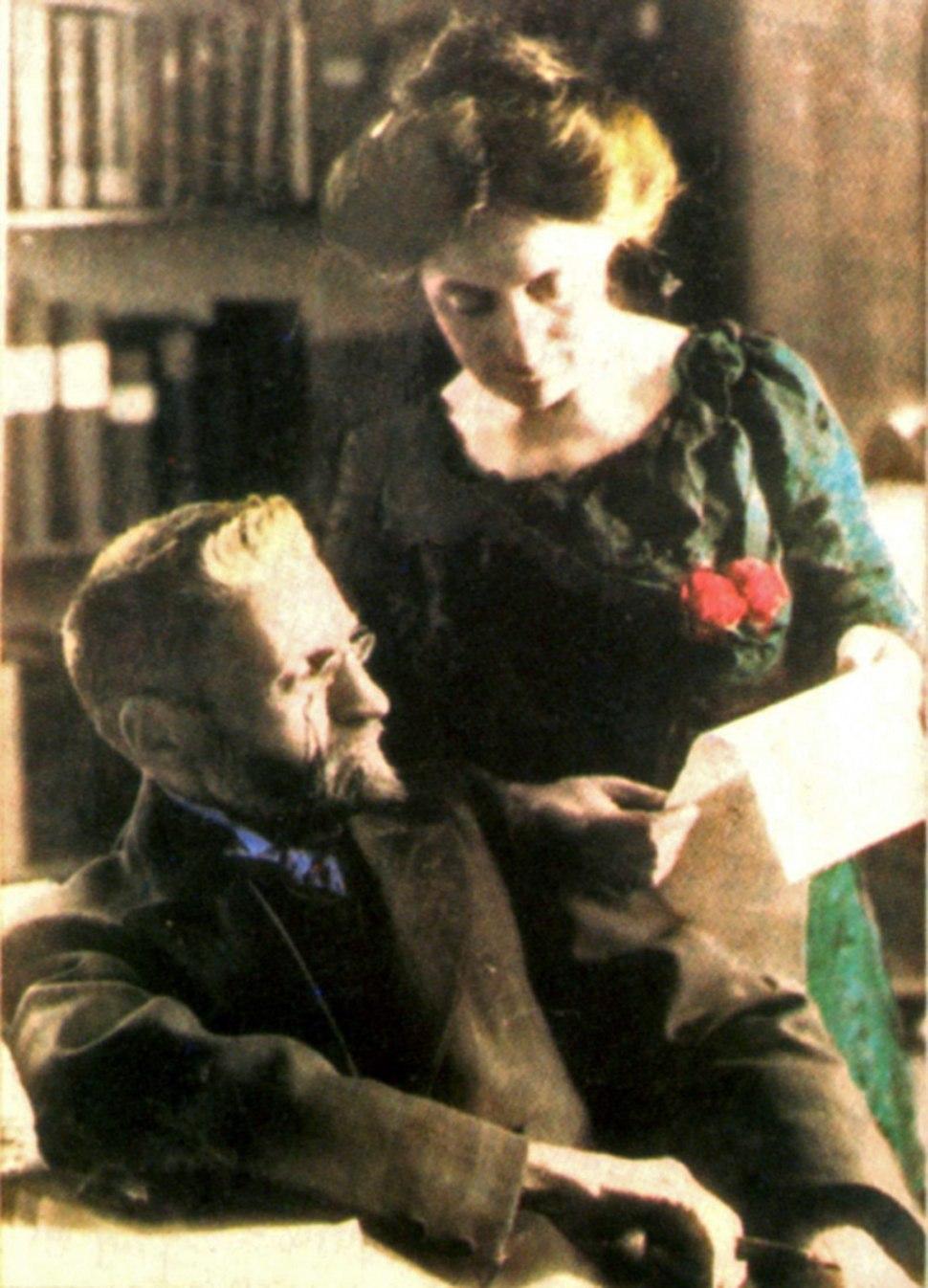 Eliezer und Hemda Ben Jehuda im Jahre 1912