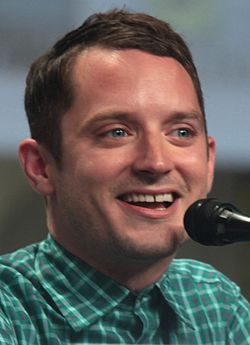Elijah Wood vid San Diego Comic-Con International juli 2014.