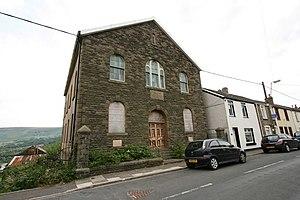 Cwmdare - Image: Elim Chapel, Bwllfa Road, Cwmdare