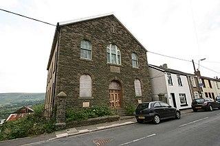 Cwmdare village in United Kingdom