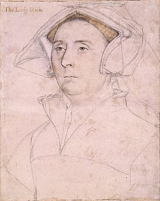Richard Rich, 1st Baron Rich - Elizabeth, Lady Rich, by Hans Holbein the Younger.