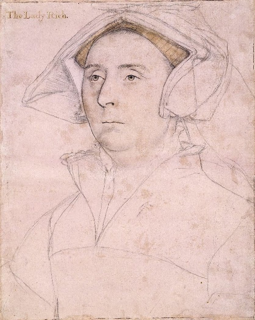 Elizabeth, Lady Rich, by Hans Holbein the Younger