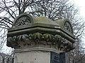 Elm Avenue gatepost - Beech^ - geograph.org.uk - 1196663.jpg