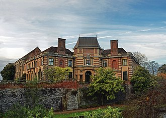 1990 Eltham bombing - Eltham Palace in 2012, after the Corps left