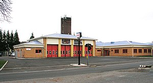 Cowbridge Road West - Ely Fire Station on Cowbridge Road West