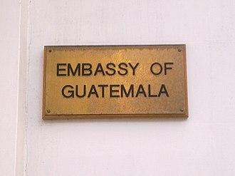 Embassy of Guatemala, London - Image: Embassy of Guatemala in London 2