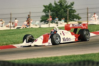 Champ Car - Emerson Fittipaldi in a Penske-Chevrolet at Mid-Ohio, 1993