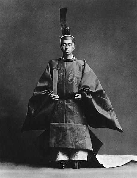 Император Хирохито на его интронизации в 1928 году