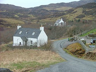 Aird of Sleat - Image: End Of The Road geograph.org.uk 137259
