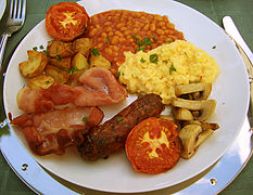 repas typique anglais