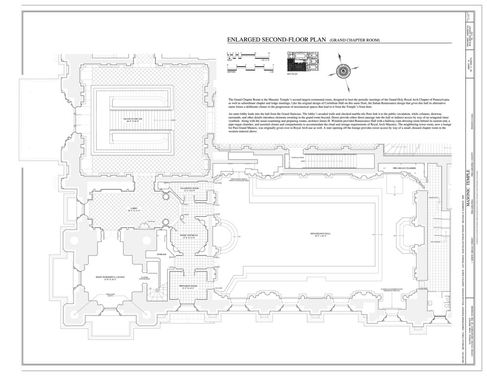 File Enlarged Second Floor Plan Grand Chapter Room