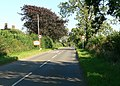Entering Somerby Village, Leicestershire - geograph.org.uk - 522169.jpg