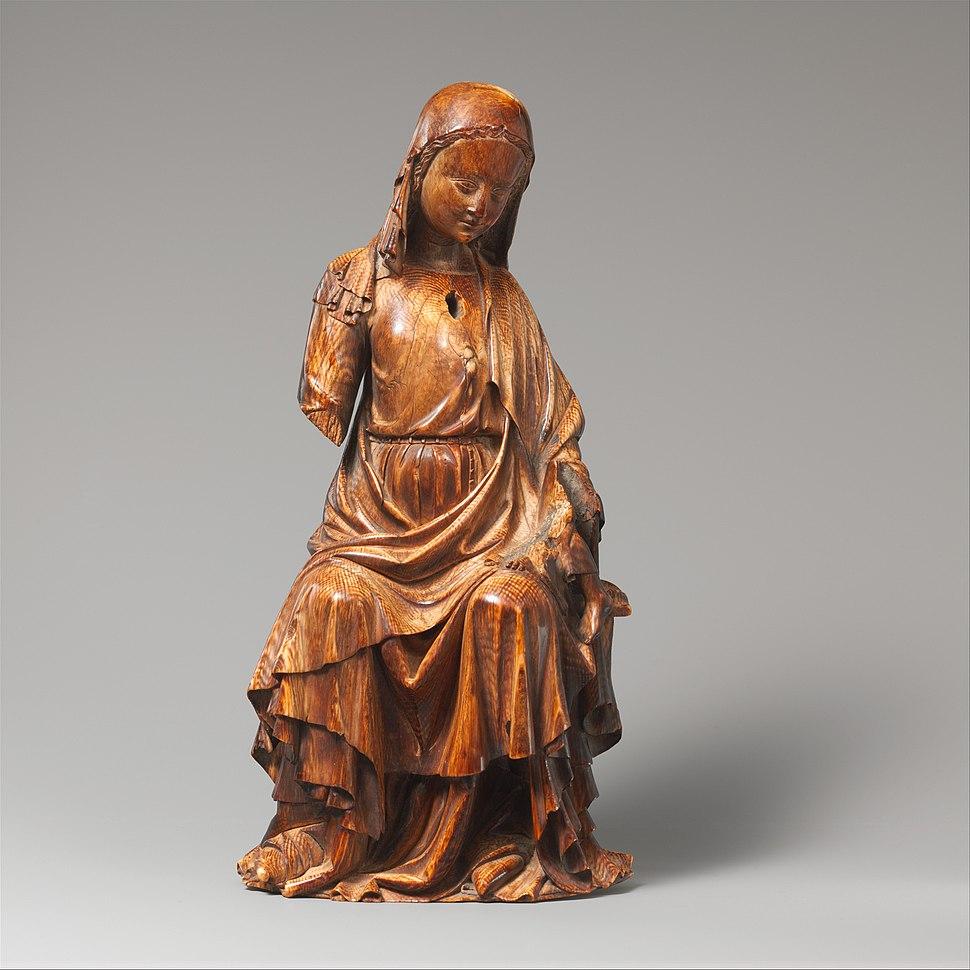 Enthroned Virgin and Child MET DP102836