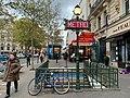 Entrée Station Métro Michel Ange Auteuil Paris 1.jpg