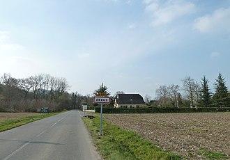 Arbus, Pyrénées-Atlantiques - Entry to Arbus.