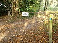 Entry to Chase Woods, Rushmore Estate, and Longcroft Road - geograph.org.uk - 273698.jpg