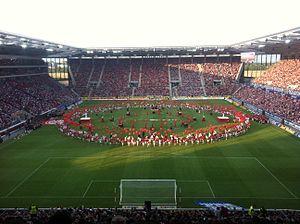 Opel Arena (stadium) - Image: Eröffnungsfeier Coface Arena