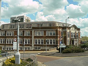 Municipal Borough of Erith - Image: Erith Town Hall geograph.org.uk 1278414