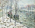 Ernest Lawson - Canal Scene in Winter (ca.1898).jpg