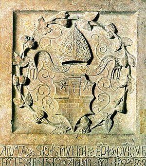 Sigismund Ernuszt - Coat-of-arms of Sigismund Ernuszt