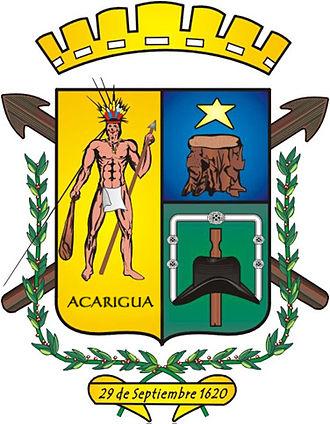Acarigua - Image: Escudo del municipio paez