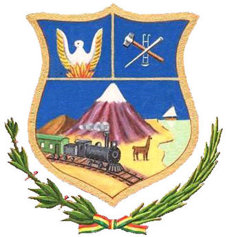 Oruro Department - Image: Escudo Oruro