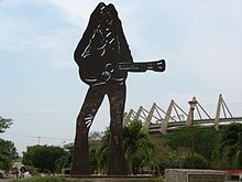 Scultura di Shakira a Barranquilla