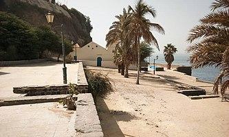 Esplanade mosquée Gorée