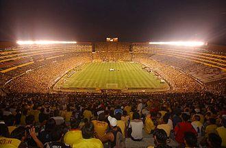 Estadio Monumental Isidro Romero Carbo - Image: Estadio Monumental 6