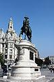 Estatua Equestre D. Pedro IV, Aliados.jpg