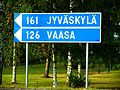 Etäisyydet Jyväskylään ja Vaasaan Alajärveltä.JPG