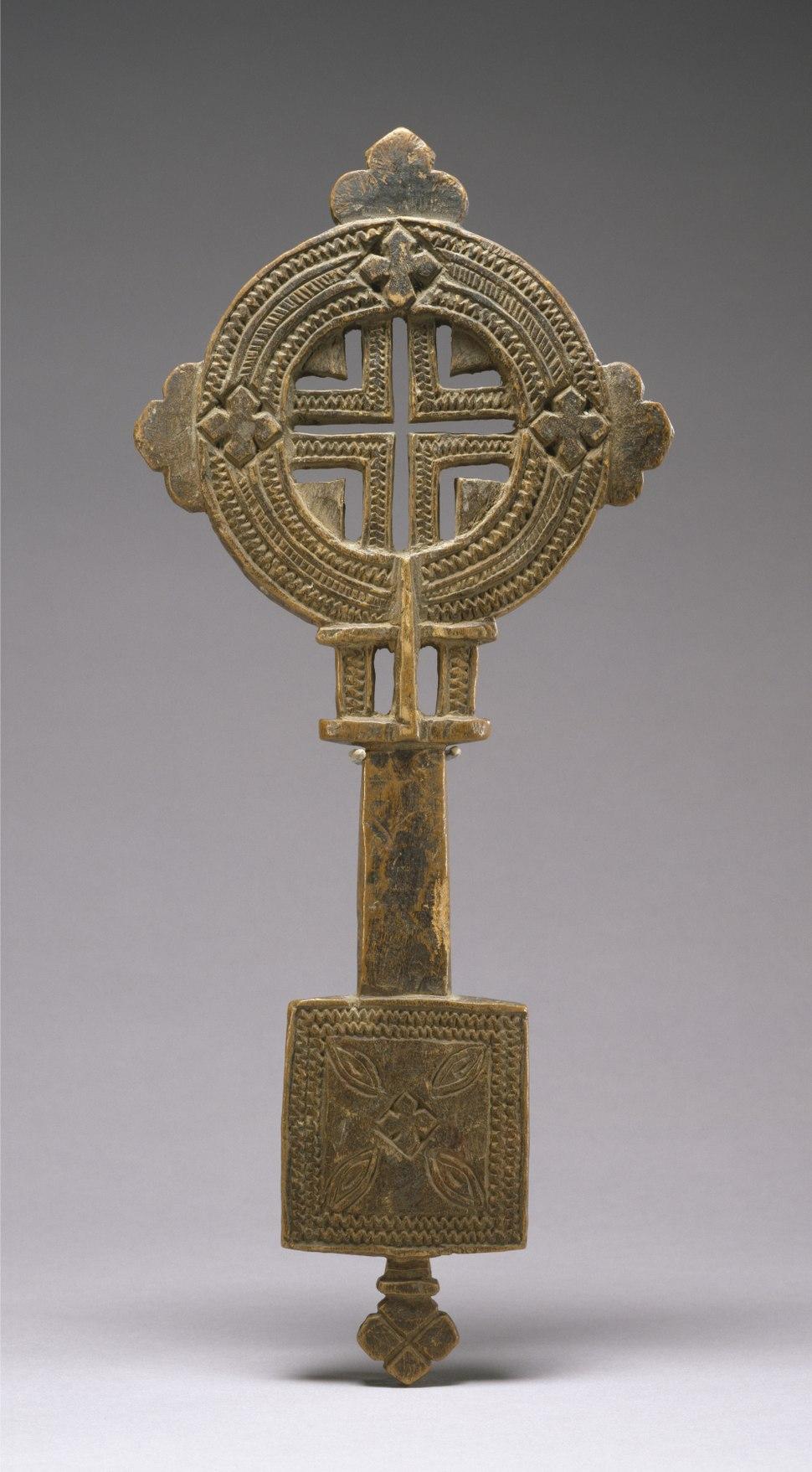 Ethiopian - Hand Cross - Walters 61342