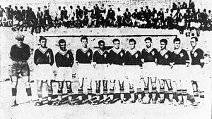 Ethnikos Piraeus F.C. - Ethnikos winner's cup team in 1933