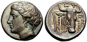 Euboean League - Image: Euboea drachma
