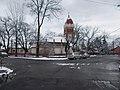 Evangélikus templom a Nádastó utca felől nézve, 2018 Pestújhely.jpg
