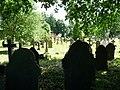Exeter , St Michael Churchyard and Gravestones - geograph.org.uk - 1342213.jpg