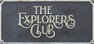 The Explorers Club - The Explorers Club sign