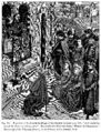 Expulsion of the Jews in the Reign of the Emperor Hadrian AD 135 How Heraclius turned the Jews out of Jerusalem Fac simile of a Miniature in the Histoire des Empereurs Manuscript of the Fifteenth Century.png