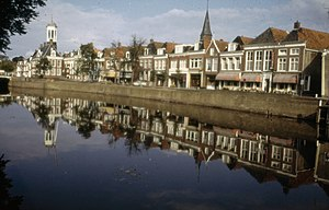 Dongeradeel - Canal through Dokkum
