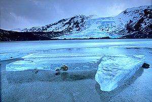 Settlement of Iceland - Eyjafjallajökull glacier