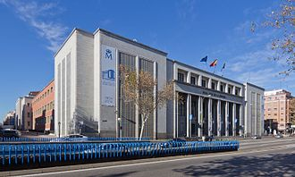 Royal Mint (Spain) - Headquarters at Calle del Doctor Esquerdo Nº 36, Madrid