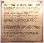F-100 at MBAFB Plaque.jpg