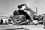 F-104A South Carolina ANG loaded on C-124C 1961.jpg